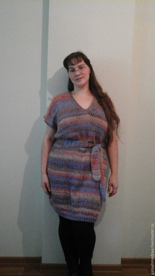 Купить платье ручной работы, красивое вязаное платье, красивая вязаная туника, женская туника, ручное вязание на заказ, платье вязаное, теплое платье, на осень, купить тунику, вязаная туника,вязание д