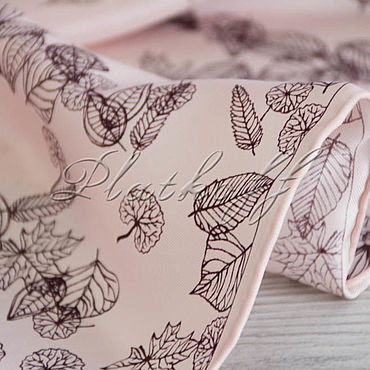 Accessories handmade. Livemaster - original item Italian silk handkerchief made of Chanel fabric