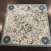 Фен-шуй и эзотерика handmade. Livemaster - original item Tablecloth for divination 59h59 cm. velvet. Handmade.