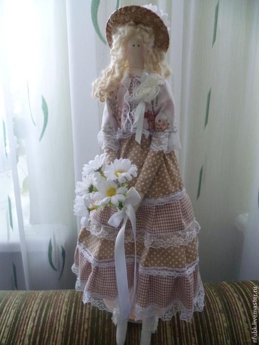 Куклы Тильды ручной работы. Ярмарка Мастеров - ручная работа. Купить Тильда летняя. Handmade. Подарок, подарок на 8 марта