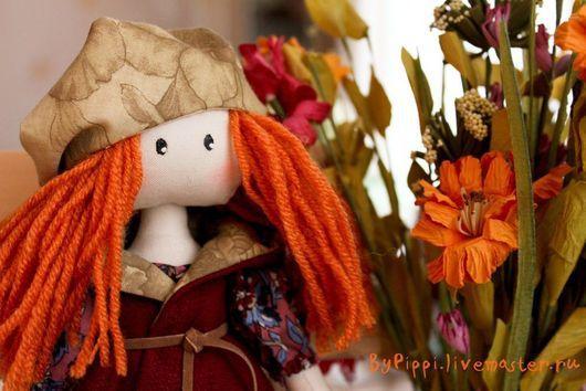 """Человечки ручной работы. Ярмарка Мастеров - ручная работа. Купить Милли. Осень в стиле """"Бохо"""". Handmade. Кукла, ручная работа"""