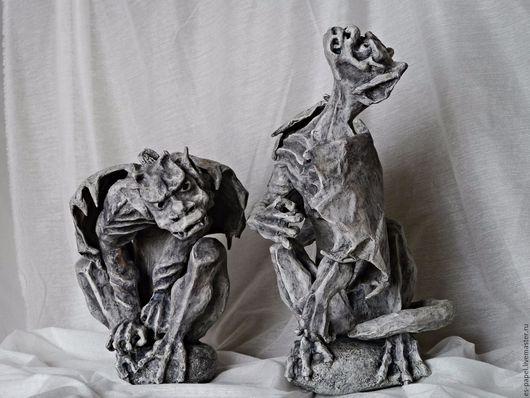 Элементы интерьера ручной работы. Ярмарка Мастеров - ручная работа. Купить Гаргульи. Handmade. Единственный экземпляр, имитация камня