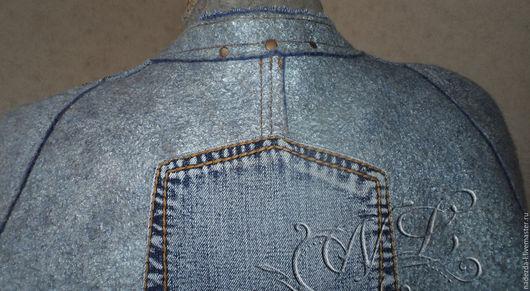 """Верхняя одежда ручной работы. Ярмарка Мастеров - ручная работа. Купить Валяное пальто-кокон  """" Favorite Jeans...!"""". Handmade."""