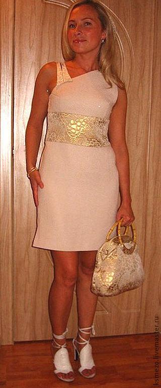"""Платья ручной работы. Ярмарка Мастеров - ручная работа. Купить Платье """"Жемчужное"""" пастель. Handmade. Кремовый, нежно-розовый, пастель"""