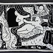"""Картины и панно ручной работы. Ярмарка Мастеров - ручная работа Гобелен """"Даная"""" Рембрандта. Handmade."""