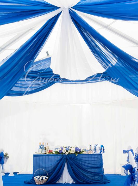 Свадебные аксессуары ручной работы. Ярмарка Мастеров - ручная работа. Купить Оформление шатра. Оформление шатра на свадьбу. Handmade.