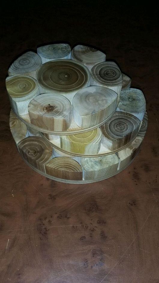 Кухня ручной работы. Ярмарка Мастеров - ручная работа. Купить Подставка под горячее. Handmade. Подставки под горячее, вяз