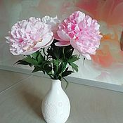 Цветы ручной работы. Ярмарка Мастеров - ручная работа Цветы: Пионы. Handmade.