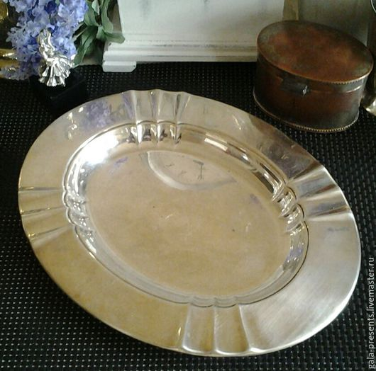 Винтажная посуда. Ярмарка Мастеров - ручная работа. Купить Винтажный сигарный поднос, 1960е, Англия, антиквариат, винтаж. Handmade.