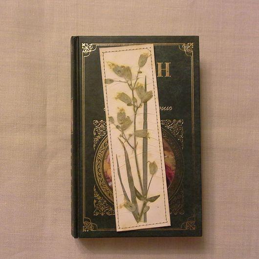 Закладки для книг ручной работы. Ярмарка Мастеров - ручная работа. Купить Закладка для книг. Handmade. Комбинированный, закладка из гербария