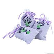 Подарки ручной работы. Ярмарка Мастеров - ручная работа Подарок гостям свадьбы арома-саше. Handmade.