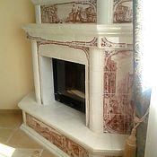 Для дома и интерьера handmade. Livemaster - original item Tiled fireplace Venice. Handmade.