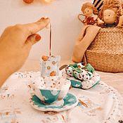 Кукольная еда ручной работы. Ярмарка Мастеров - ручная работа Текстильный домик трансформирующийся. Handmade.