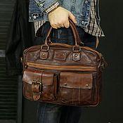 "Мужская сумка ручной работы. Ярмарка Мастеров - ручная работа Мужская сумка ""Gerard"" (Джерард). Handmade."