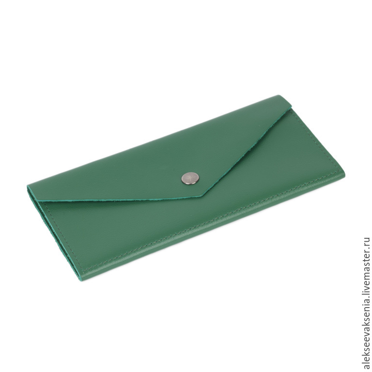 Wallet genuine leather 'Apple', Wallets, St. Petersburg,  Фото №1