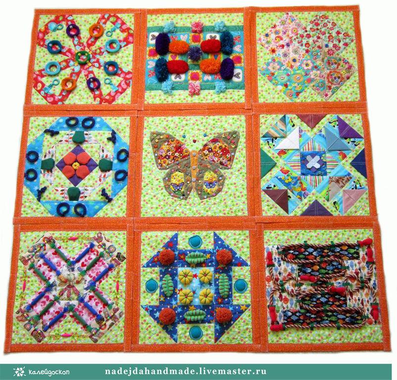 Массажный развивающий коврик для детей 131