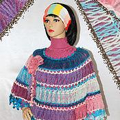 Одежда handmade. Livemaster - original item Crochet poncho Dream.. Handmade.