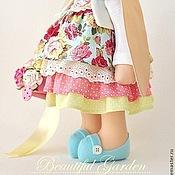 Куклы и игрушки ручной работы. Ярмарка Мастеров - ручная работа Зайка текстильная Nicole / Николь. Handmade.