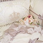 Работы для детей, ручной работы. Ярмарка Мастеров - ручная работа Бортики в детскую кроватку. Handmade.