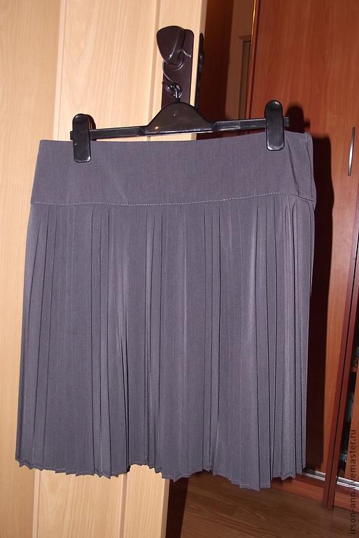 Гофре юбка