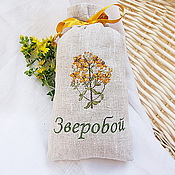 Для дома и интерьера handmade. Livemaster - original item Pouch with embroidered