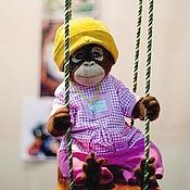 Куклы и игрушки ручной работы. Ярмарка Мастеров - ручная работа Малыш - обезьянка. Handmade.