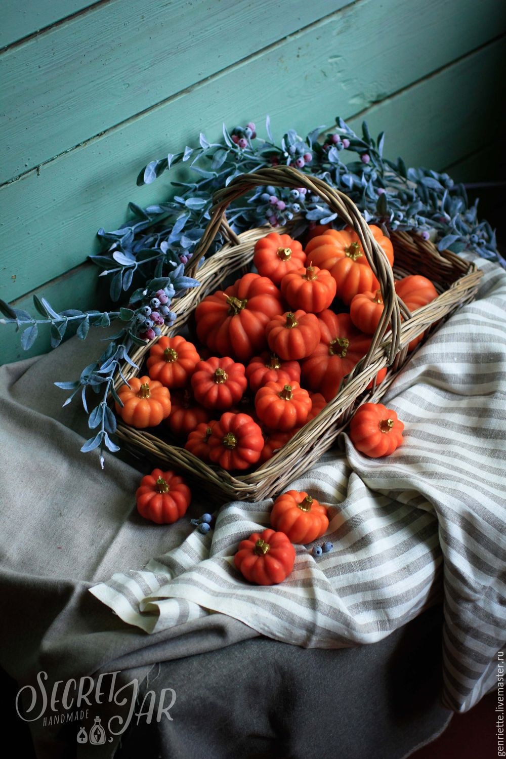 Scented candles-pumpkin, Candles, Moscow,  Фото №1