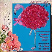 Материалы для творчества handmade. Livemaster - original item Flamingo