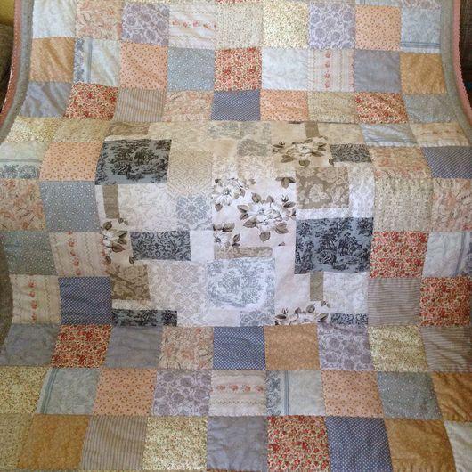 Текстиль, ковры ручной работы. Ярмарка Мастеров - ручная работа. Купить Винтажное -10%. Handmade. Шебби-шик, покрывало пэчворк