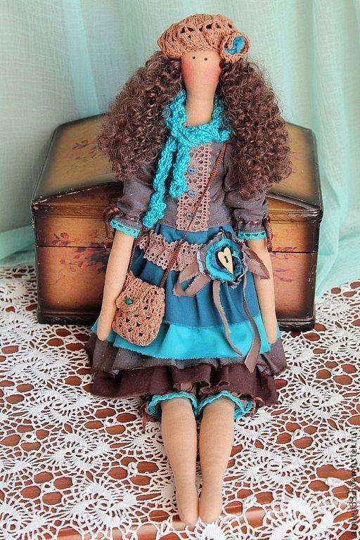 Куклы Тильды ручной работы. Ярмарка Мастеров - ручная работа. Купить Интерьерная кукла в стиле Тильда. Handmade. Кукла Тильда