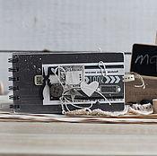 """Сувениры и подарки ручной работы. Ярмарка Мастеров - ручная работа Чековая книжка желаний """"Графит"""". Handmade."""