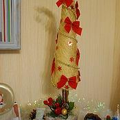 Подарки к праздникам ручной работы. Ярмарка Мастеров - ручная работа Декоративная ёлка. Handmade.