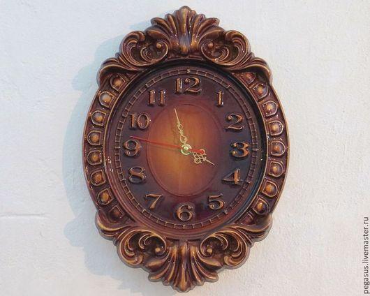 Часы для дома ручной работы. Ярмарка Мастеров - ручная работа. Купить Часы настенные для дома №3.. Handmade. Элемент интерьера