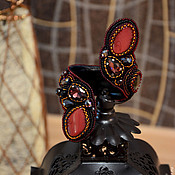 """Украшения ручной работы. Ярмарка Мастеров - ручная работа Браслет-змейка """"Queen"""". Handmade."""