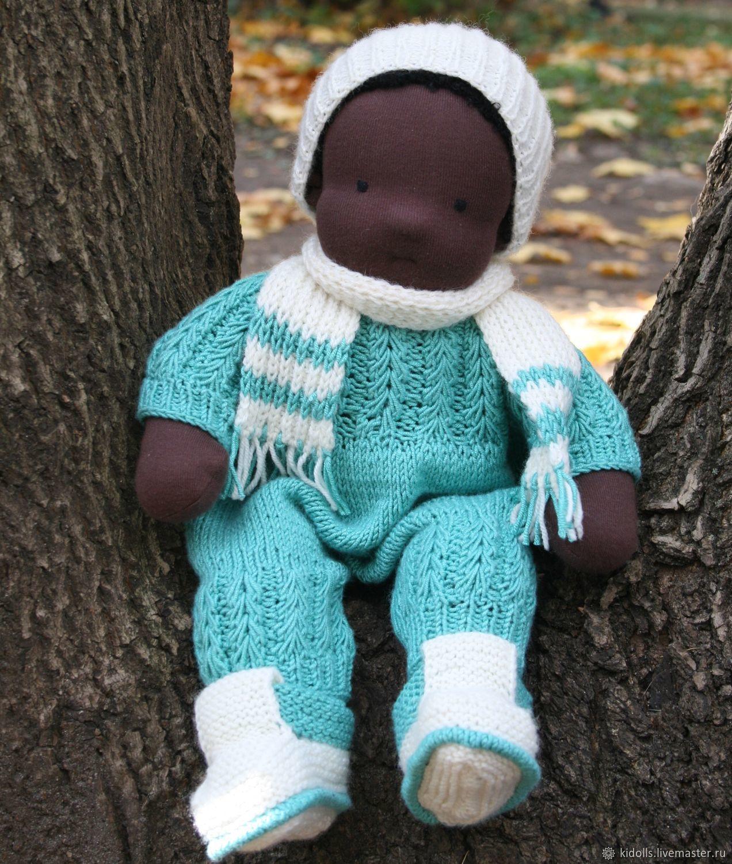 Вальдорфская кукла 37см, Вальдорфские куклы и звери, Люберцы,  Фото №1