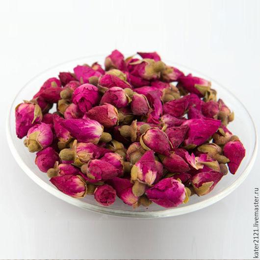 Материалы для косметики ручной работы. Ярмарка Мастеров - ручная работа. Купить Бутоны розы сухоцвет 25шт (2-3см). Handmade.