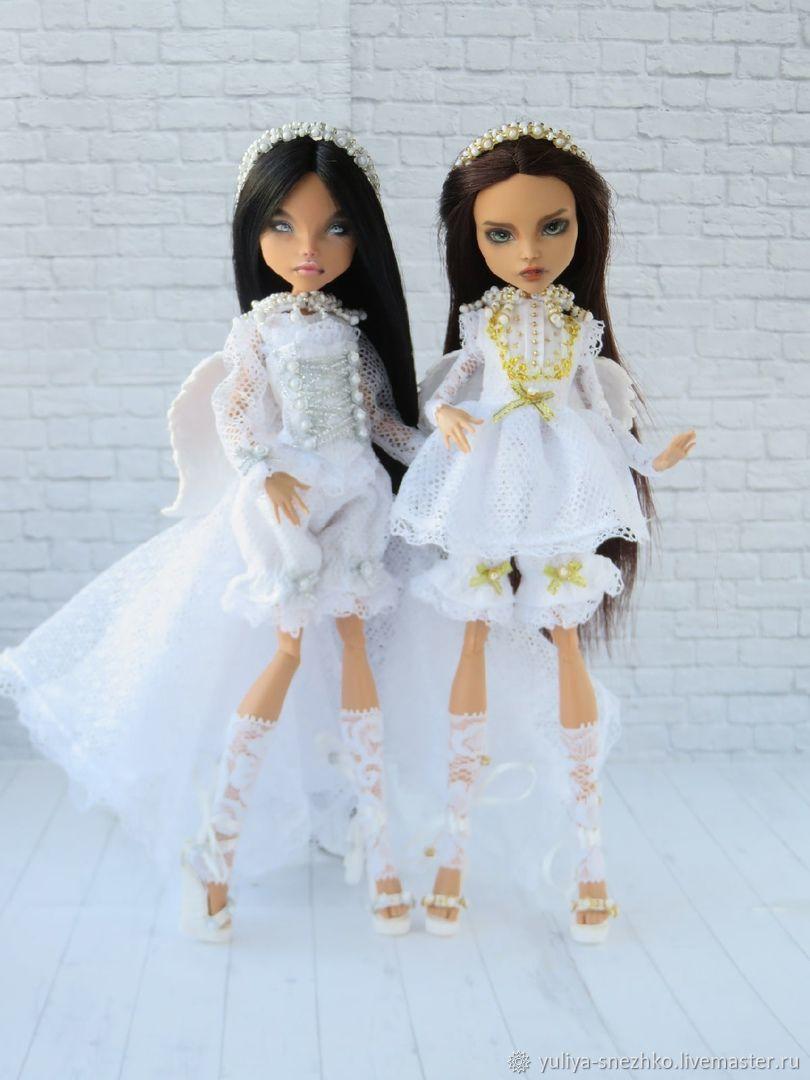 Одежда для кукол Монстер Хай Аутфиты ангелов, Одежда для кукол, Можга,  Фото №1