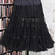 платье можно дополнить подъюбником черного цвета