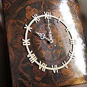 """Для дома и интерьера ручной работы. Ярмарка Мастеров - ручная работа Большие часы """"Монументальная классика"""". Handmade."""