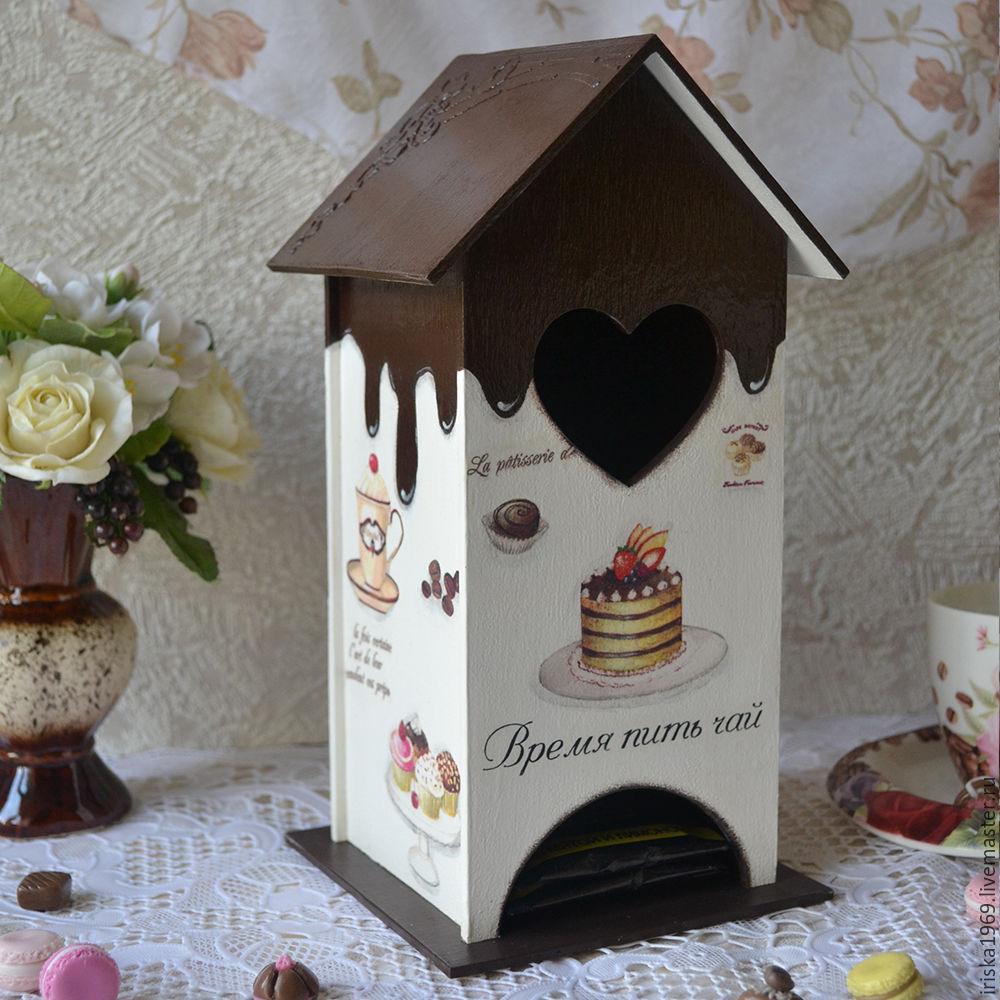 картинки декупаж чайный домик
