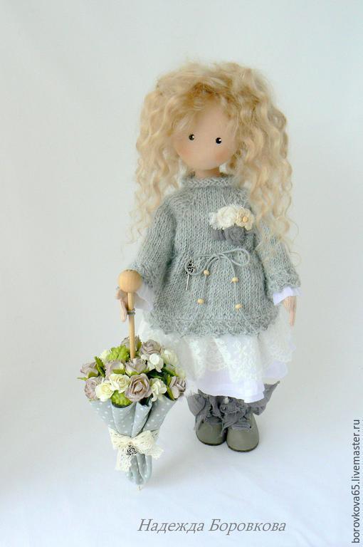 Коллекционные куклы ручной работы. Ярмарка Мастеров - ручная работа. Купить Мариша. Бохо стиль. Handmade. Разноцветный, подарок девушке
