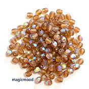 Материалы для творчества handmade. Livemaster - original item 25 PCs 4 mm Beads MX10230 Fire Polished Czech glass beads. Handmade.