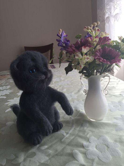 Игрушки животные, ручной работы. Ярмарка Мастеров - ручная работа. Купить Британские котята!). Handmade. Британский кот, шерсть 100%