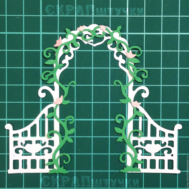 Набор вырубки Свадебная арка, Вырубки для скрапбукинга, Москва,  Фото №1