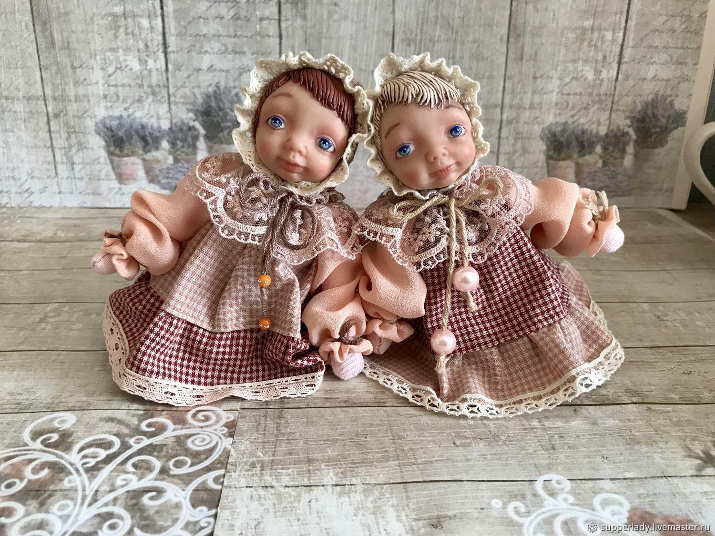 Авторская куколка - малышка, Куклы и пупсы, Волгоград,  Фото №1