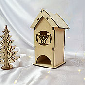 Материалы для творчества handmade. Livemaster - original item Mini tea houses, blanks for creativity. Handmade.