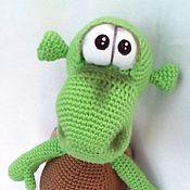 Куклы и игрушки ручной работы. Ярмарка Мастеров - ручная работа Вязаный черепашонок. Handmade.