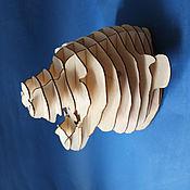 Для дома и интерьера handmade. Livemaster - original item Tiger head. Handmade.