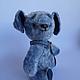 Мишки Тедди ручной работы. Ярмарка Мастеров - ручная работа. Купить ФИЛЯ, очень смелый щенок, тедди  пес. Handmade.