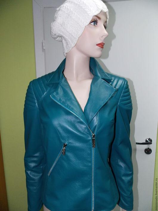 Верхняя одежда ручной работы. Ярмарка Мастеров - ручная работа. Купить Куртка. Handmade. Морская волна, косуха